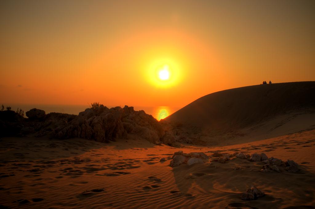 Patara: Besonders am Abend sind die Dünen beliebtes Motiv