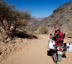 Abenteuerliche Trails in den Hajar Bergen